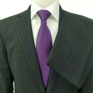 Brooks Brothers Fitzgerald Gray Striped Suit